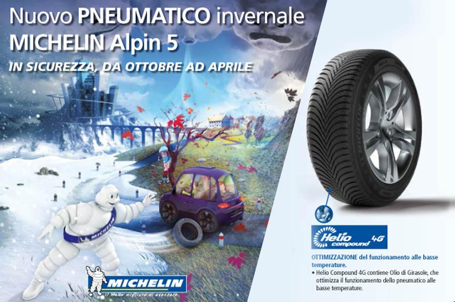 Scopri il nuovo Michelin Alpin 5