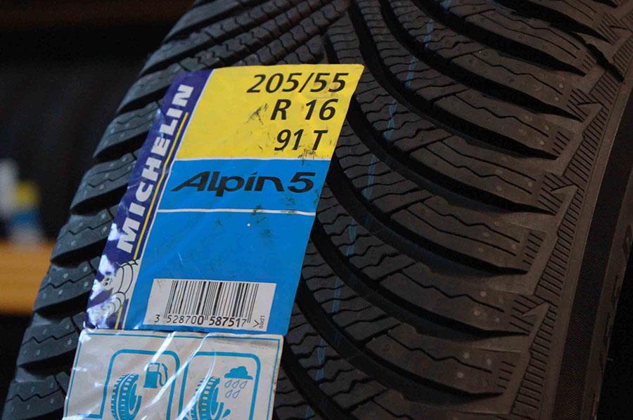 Promozione Michelin Alpin 5 205/55 16 91T